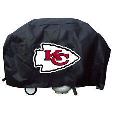 "Kansas City Chiefs Vinyl Grill Cover [NEW] NFL 68"" Wide Grilling Barbeque CDG"
