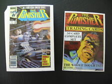 1988 MARVEL PUNISHER COMIC TRADING CARD COMPLETE SET