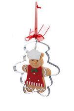 KURT S. ADLER GINGERBREAD MAN COOKIE CUTTER CHRISTMAS TREE ORNAMENT