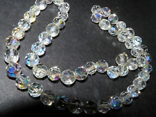 VINTAGE HAND CUT CRYSTAL  CHOKER NECKLACE