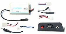 Universal Stereo Radio FM Modulator Wired USB Power Port Transmitter AUX Adatper