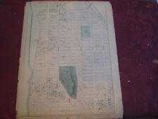 Rare 1867 Harlem Manhattanville New York Nyc Map Atlas