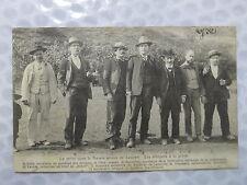 Longwy – La grève dans le bassin minier de Longwy . Les délégués à la grève – 1)