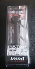 TREND 1004/25TC LIP & SPUR TWO WING BIT 25MM DIA