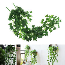 Outdoor Indoor Decoration Artificial  Boston Ivy Garlands Vine Garden Plant