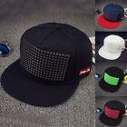Cool Men's Women Bboy Adjustable Baseball Cap Snapback Sports Hip-hop Flats Hats