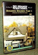 "20024 MODEL RAILROAD VIDEO DVD ""BUILDING THE RGS #3"" DOLORES"