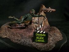 THE CREATURE FROM THE BLACK LAGOON MICRO MANIA MONSTER MODEL BUILT UP CUSTOMBASE