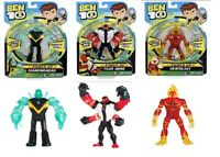 Ben 10 Power Up Diamondhead Deluxe Power Up Four Arms Heatblast Ages 4+ Toy Play