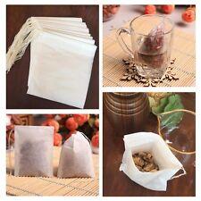 100x White Cotton Muslin Drawstring Reusable Bags Packing Bath Soap Herbs Tea