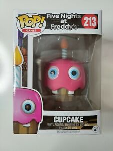 POP! vinyl CUPCAKE five nights at Freddys #213