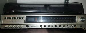 Alte Stereoanlage Hifi Grundig Studio RPC 200 Kompaktanlage 70er Jahre DUAL