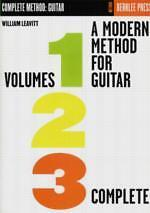 MODERN METHOD FOR GUITAR Leavitt Complete Vol 1-3*