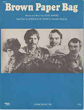 Brown paper bag-syndocate of sound - 1970-sheet music
