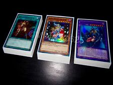 Yugioh Complete Dark Magician Girl Deck + Ultra Pro Sleeves! Tournament Ready!!!