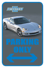 "Chevrolet 12""x18"" Full Color Auto Parking Sign"