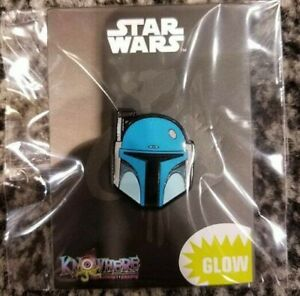 Star Wars Celebration 2019 Boba Fett Animated GITD Exclusive Pin LE IN HAND