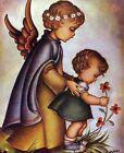 GUARDIAN ANGEL GIRL - 8  x 10 Print