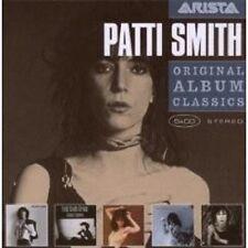 "PATTIS SMITH ""ORIGINAL ALBUM CLASSICS"" 5 CD BOX NEW+"