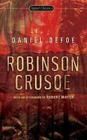 Robinson Crusoe by Daniel Defoe (English) Mass Market Paperback Book Free Shippi