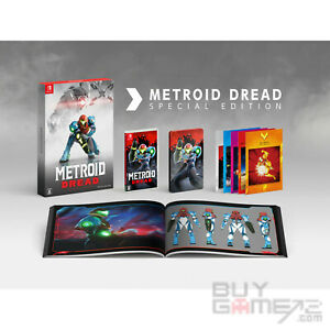 NEW Switch Metroid Dread (JAPAN Limited Collector's, ENGLISH/ Chinese)