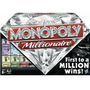 Monopoly Millionaire Board Game Brand New