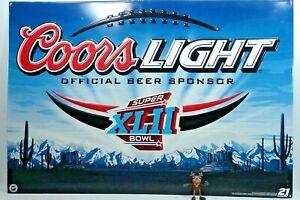 New York Giants (Winners) Coors Light Metal Wall Hanging Super Bowl XLII 2008
