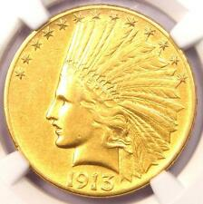 New listing 1913-S Indian Gold Eagle $10 Coin - Certified Ngc Au Details - Rare Date!