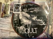 """The Cult, For the Animals/ Lucifer 7"""" pic disc"""
