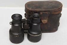 Voigtlander Jagdglas 4x Binoculars with original Leather Case from ca. 1890