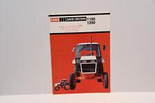David Brown 1190 & 1290 original tractor sales brochure leaflet 1982