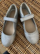 Next Silver Party Shoes In Size 12!