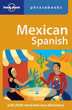Mexican Spanish: Lonely Planet Phrasebook-ExLibrary