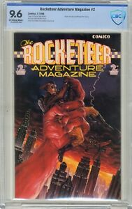 Rocketeer Adventure Magazine #2  CBCS  9.6  NM+  Off white-wht pgs  7/89  Back