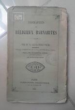 OTTOCENTINA BIOGRAPHIES DES RELIGIEUX BARNABITES ALEXANDRE SAULI 1861 BARNABITI