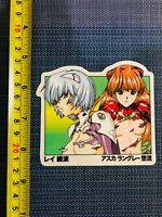 Hook-Ups JK Industries Asuka & Rei Skateboard Vinyl Stickers Decal