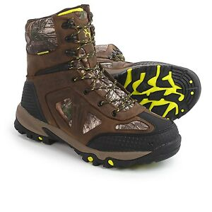 New Men`s Bone Collector Badlands Thinsulate WP Boots WIDE MSRP$150