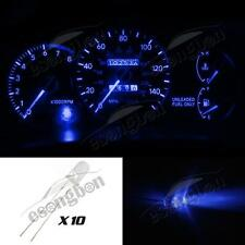 10x Blue LED 5mm Light Bulb Kit Gauge Cluster Speedometer Miniature For Chevy