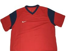 Nike Men's Dry Us Ss Park Derby Iii Jersey, Red, Size L Cw3828-657