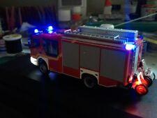 SMD LED Beleuchtungsset  Polizei Feuerwehr Spur N 1:160