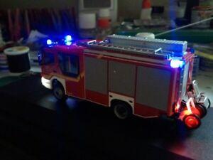 SMD LED Beleuchtungsset für Polizei, Krankenwagen, Feuerwehr Spur N 1:160