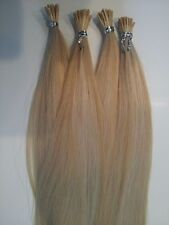 "PRE-TIPPED 24"" I-TIP EXTENSIONS FOR MICRO LINKS FINEST QUALITY RUSSIAN REMY 4OZ."