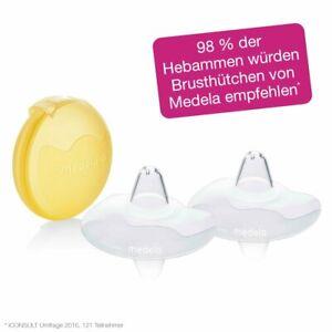 Medela Contakt - Pezoneras 2 Pieza Con Aufbewahrungsbox Talla S - L