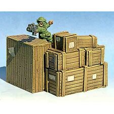 Armorcast 28mm Resin ACCB013 Medium Crate Stack #1 (1 pc) New Terrain