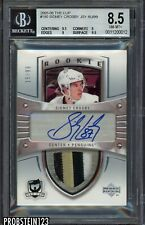 ALTERED 2005-06 UD The Cup Sidney Crosby RPA RC Rookie Patch AUTO /99 BGS 8.5