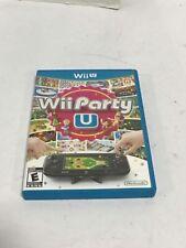 Wii Party U - Nintendo WiiU - Not Tested