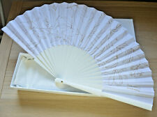 Chanel Sublimage fan very rare compliment from Chanel beauty boutique NIB