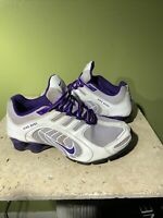 Nike Shox NZ Navina Women's White Purple Running Shoes 356918-550 Size 8.5