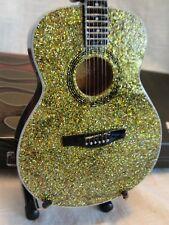 Taylor Swift Glitter Acoustic Miniature Replica Guitar Axe Heaven