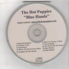 (GW625) The Hot Puppies, Blue Hands - DJ CD